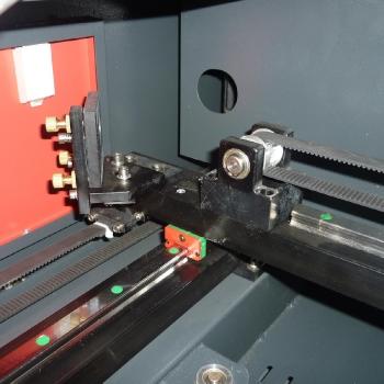 Lustro odbijające promień lasera